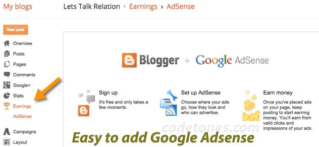 BlogSpot-Adsense