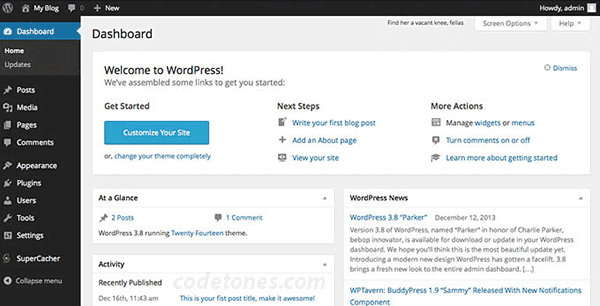 wordpress-customization-dashboard