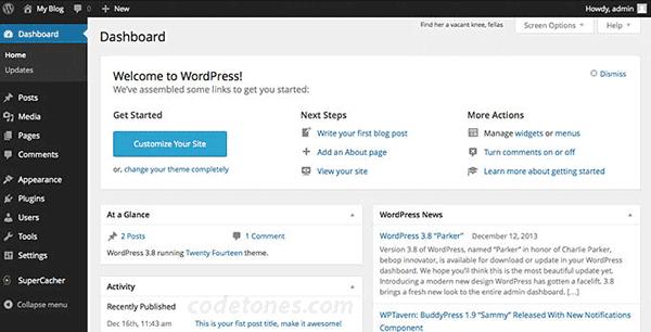 wordpress-customization-dashboard