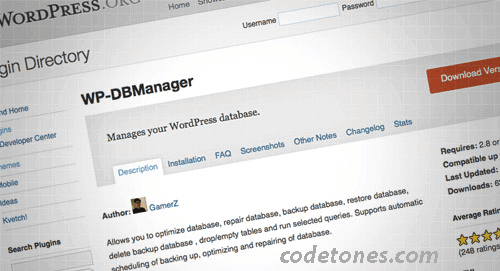 WP-BDManager
