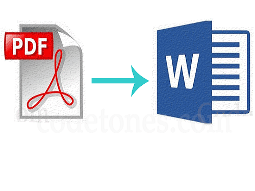 How to Convert PDFs into Microsoft Word Files