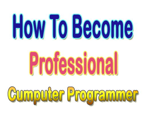 How To Become a Professional Computer Programmer