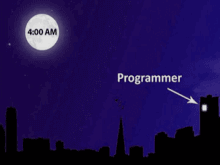 Programmers Work at Night