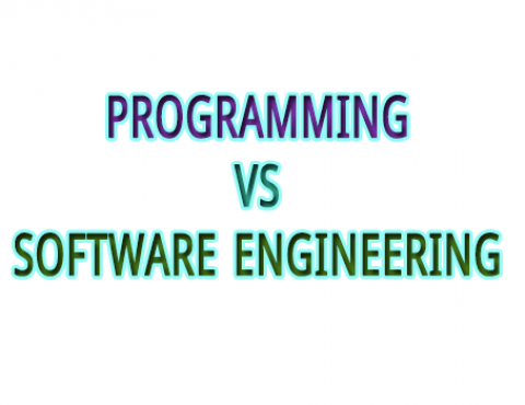 Programming vs Software Engineering
