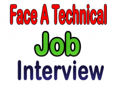 Face A Technical Job Interview