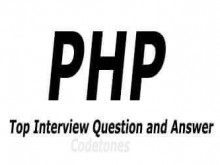 Interview Question In PHP