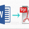 How To Convert MS Word file to PDF file?